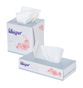 Whisper LUXI Facial Tissue