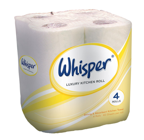 Whisper Luxury Kitchen Roll