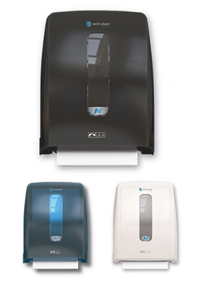 Hybrid Roll Towel Dispenser