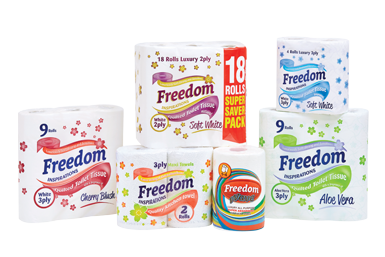 2016 - Acquisition of Freedom Paper Products Ltd