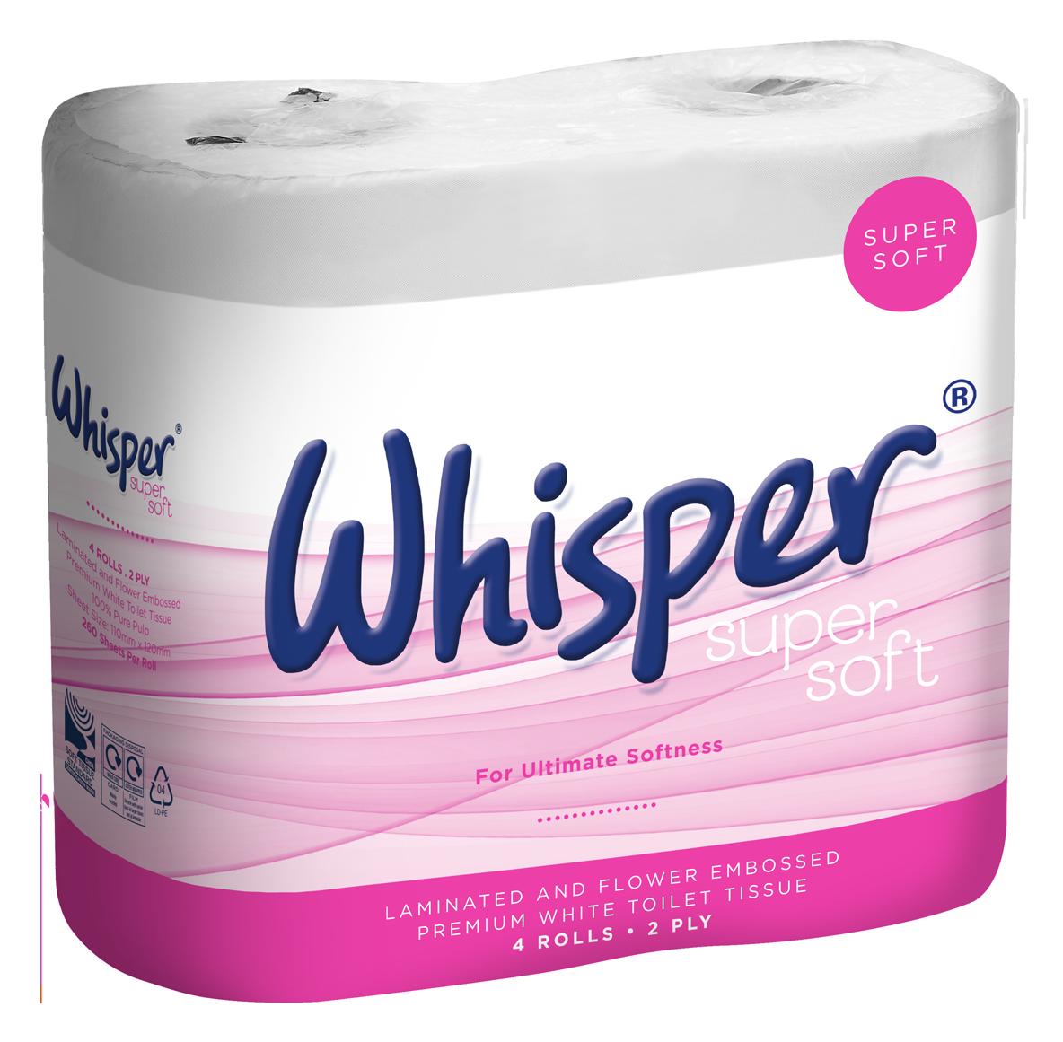 Whisper Super Soft