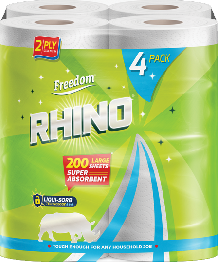 Rhino 2 Ply Kitchen Roll